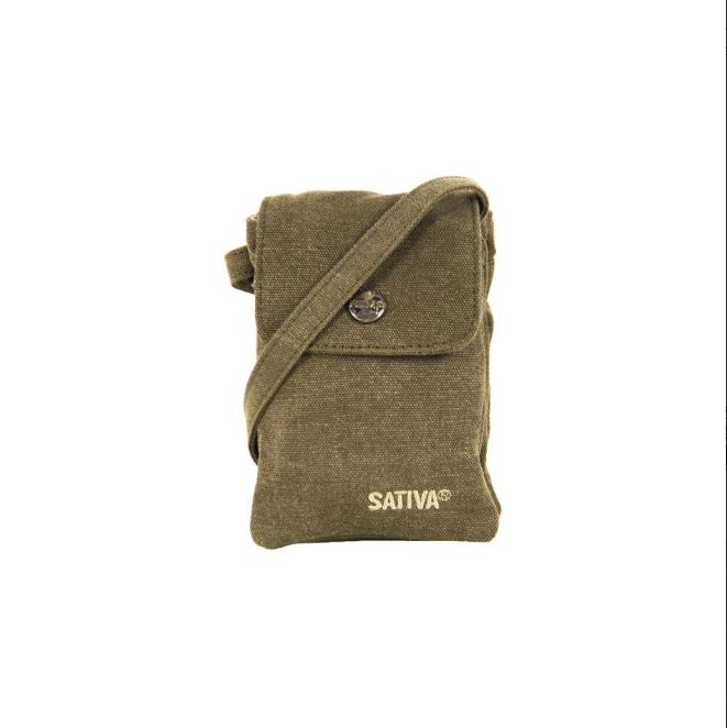 Hemp Mini Shoulder Bag - Khaki