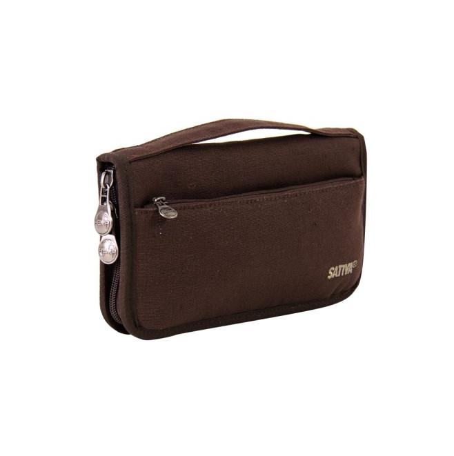 Hemp Wallet and Passport Holder - Brown