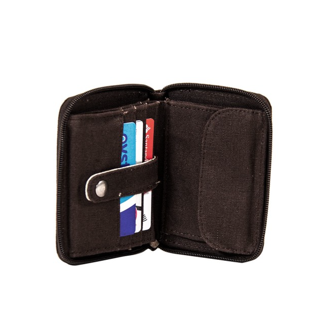 Hemp Wallet with Chain - Brown