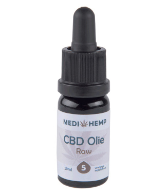 Medihemp CBD Oil Raw Natural 10ml