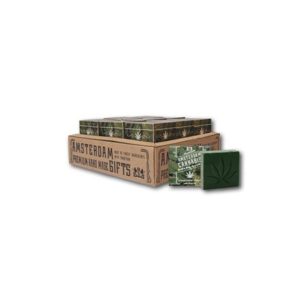 Amsterdam Cannabis Handmade Soap 50gr-0