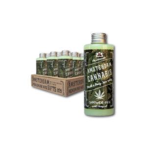 Amsterdam Cannabis Shower Gel 200ml-0