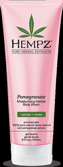 Hempz Moisturizing Herbal Body Wash Pomegranate 250ml-0