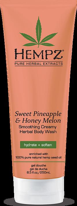 Hempz Smoothing Creamy Herbal Body Wash Sweet Pineapple & Honey Melon 250ml-0