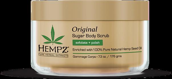 Hempz Herbal Sugar Body Scrub Original 215ml-0