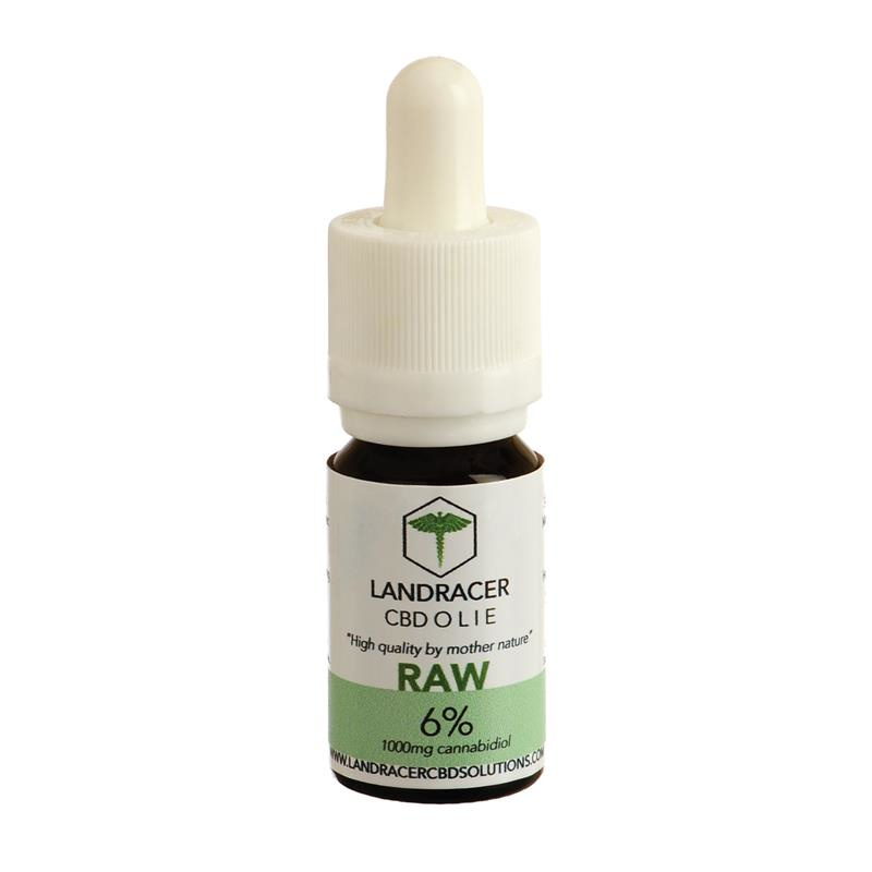 Landracer 6% Raw CBD Oil (10ml) -0