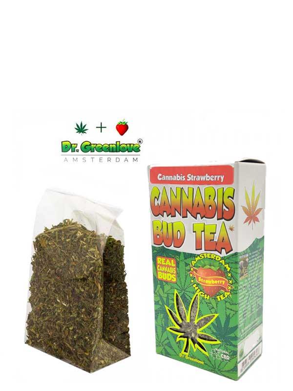 Buy Strawberry - Cannabis Bud Tea