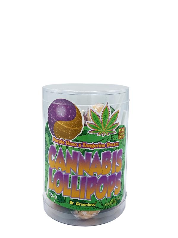 Buy Cannabis Lollipops Purple Haze x Tangerine Dream - 10 pack