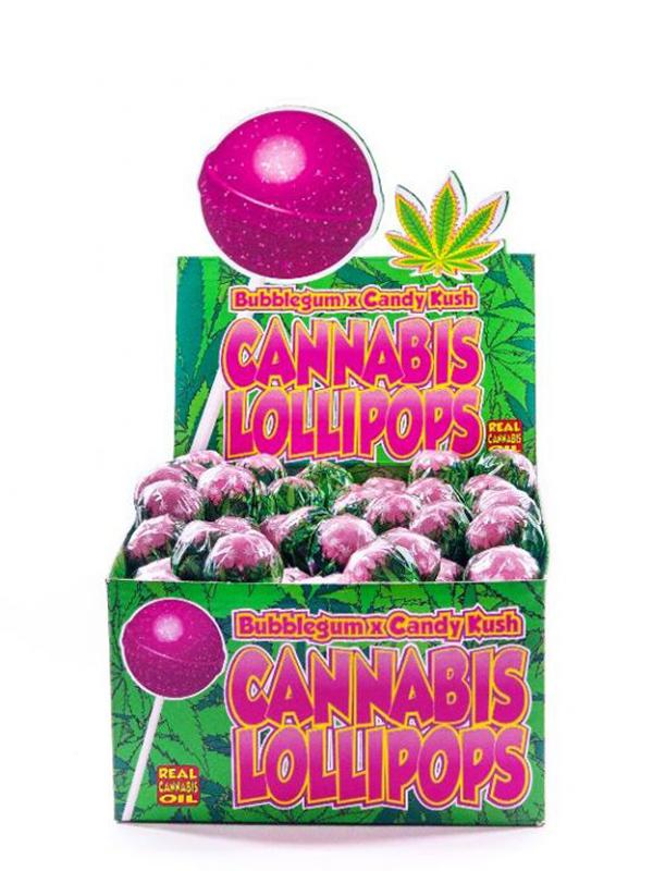 Buy Cannabis Lollipops Bubblegum x Candy Kush