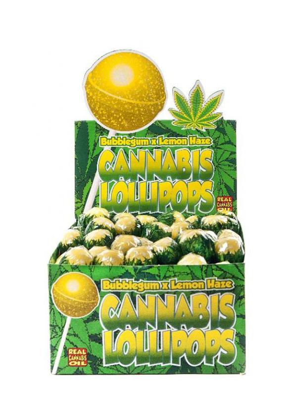 Buy Cannabis Lollipops Bubblegum x Lemon Haze