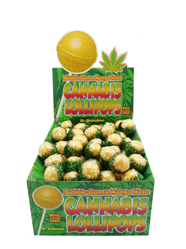 Cannabis Lollipops Bubblegum x Mango Haze-0