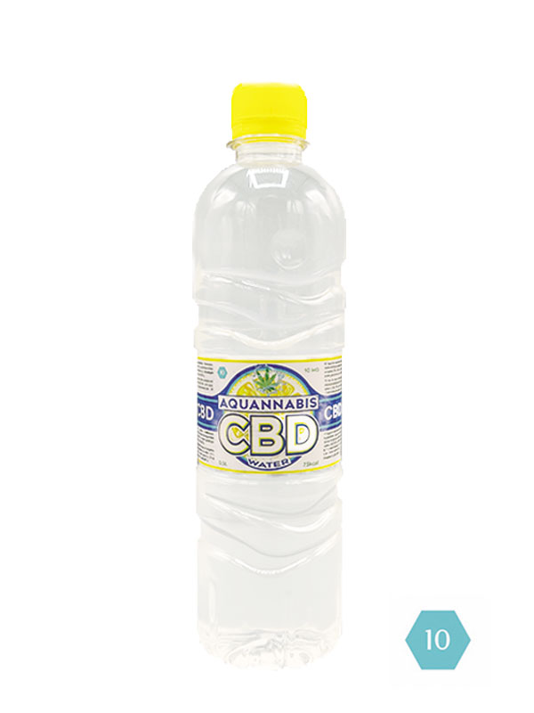 AQUANNABIS CBD WATER 0.5L-0