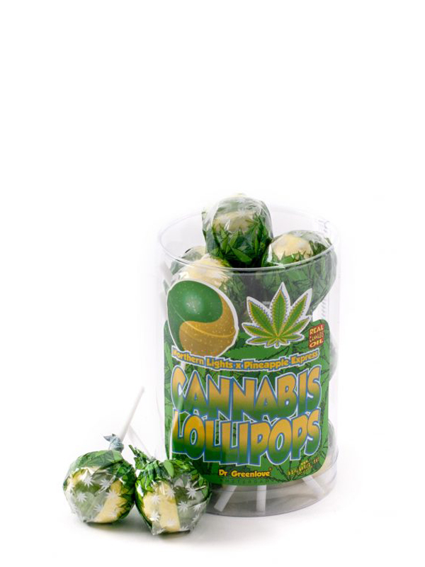 Buy Cannabis Lollipops Northern Lights x Pineapple Expressops – 10 packs