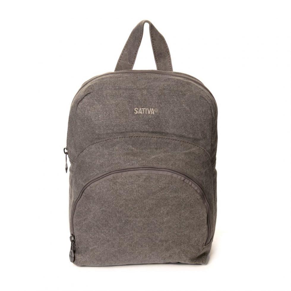 Sativa Hemp Kids Backpack - Grey-0