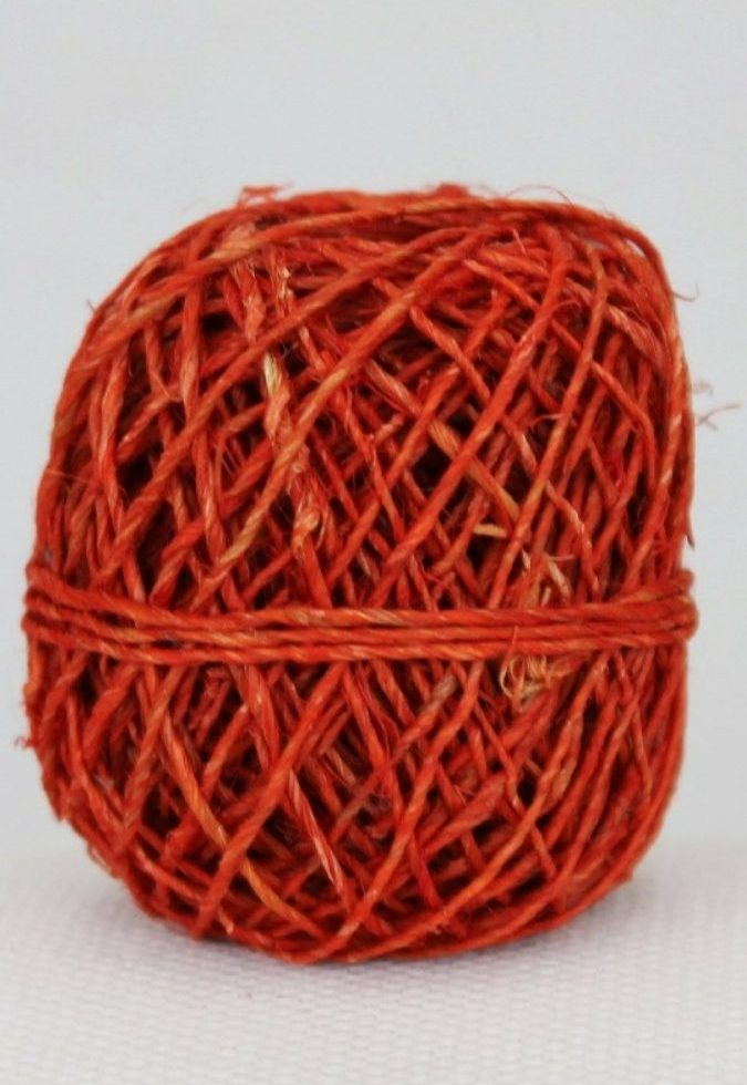 Hemp String Red Color-0