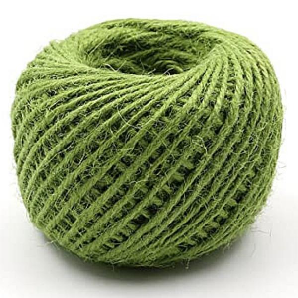 Hemp String Green Color - Hemp Accessories - Hempshopper Amsterdam