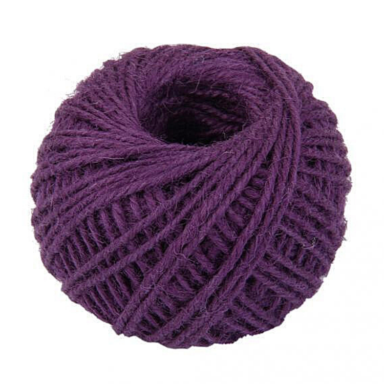 Hemp String Purple Color - HempAccessories - Hempshopper Amsterdam