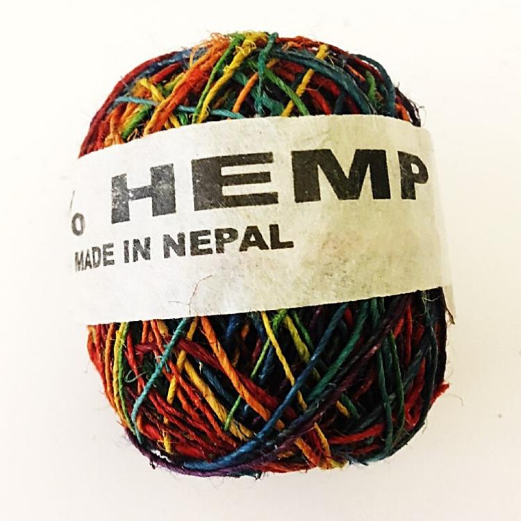 Hemp String Rainbow Color - Hemp Accessories - Hempshopper Amsterdam