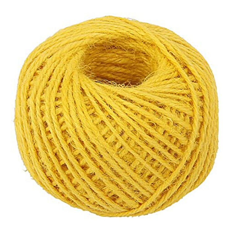 Hemp String Yellow Color - HempAccessories - Hempshopper Amsterdam