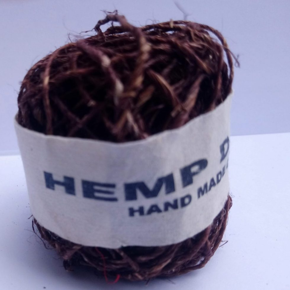Hemp String Brown Color-0