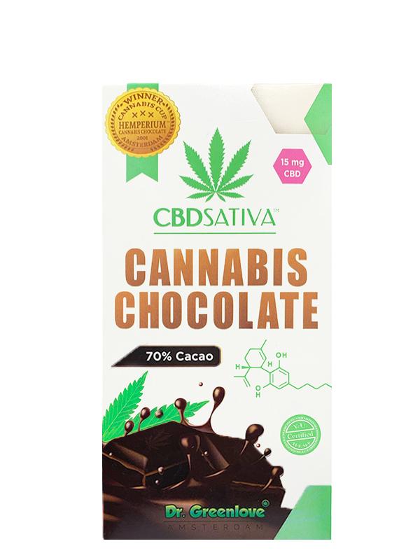 Cannabis Dark Chocolate with CBD – 15MG-0