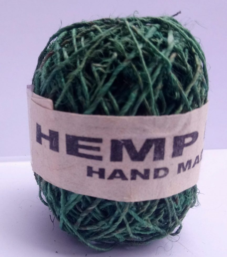 Hemp String Green Color-0