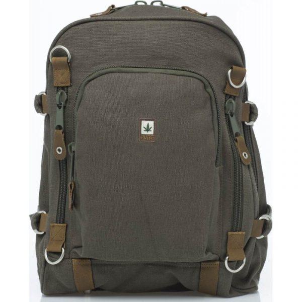 Hemp Backpack Large - Grey-0