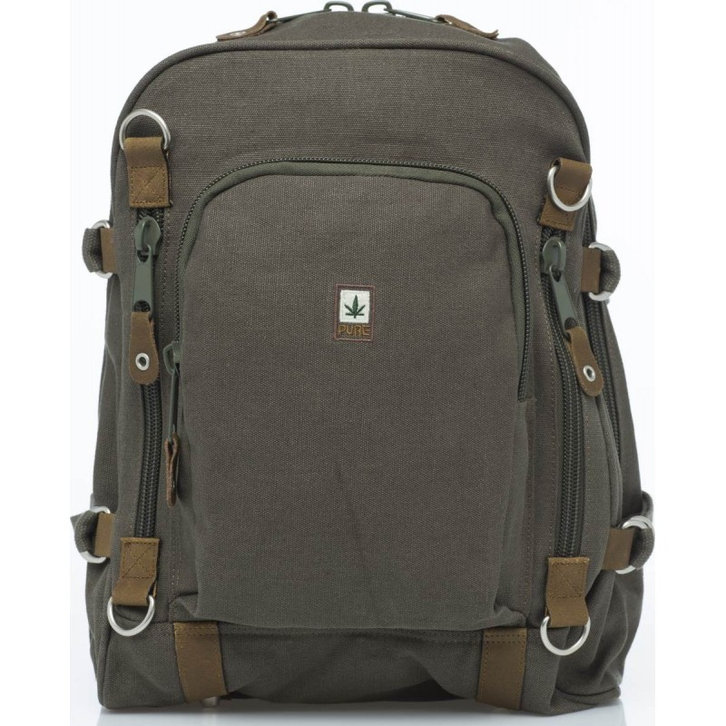 Hemp Backpack Large - Grey-0