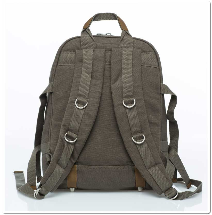 Hemp Backpack Large - Khaki-1846