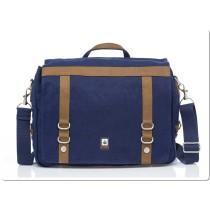 Hemp College Bag - Blue-0
