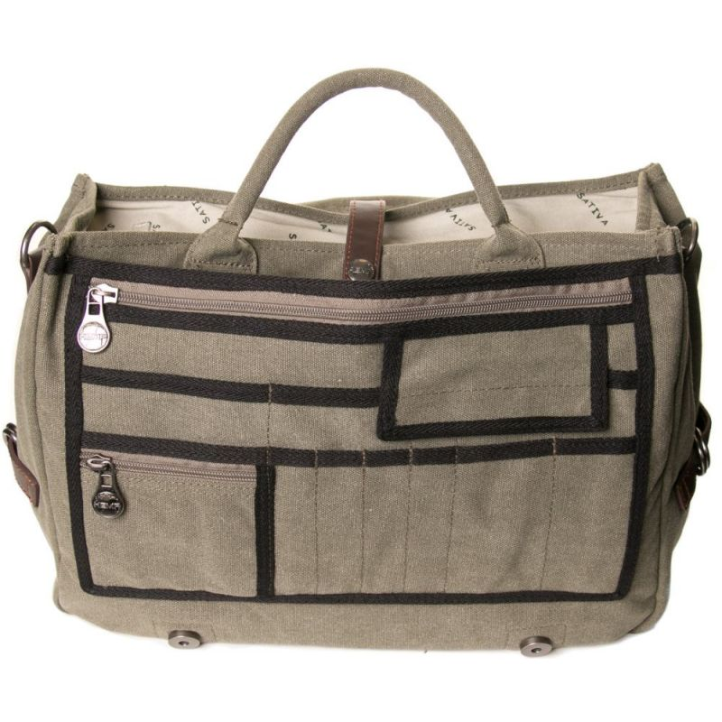 Hemp College Bag - Black-1851