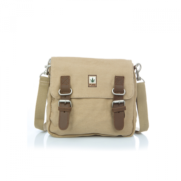 Hemp Shoulder / Belt Bag - Camel-0