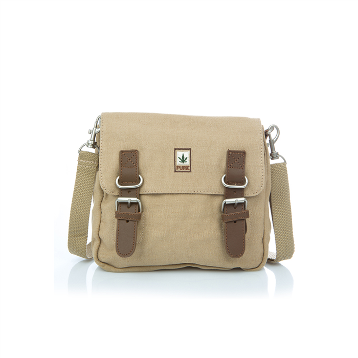 Hemp Shoulder / Belt Bag - Camel-0