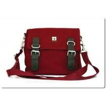 Hemp Shoulder / Belt Bag - Red Bordeaux-0