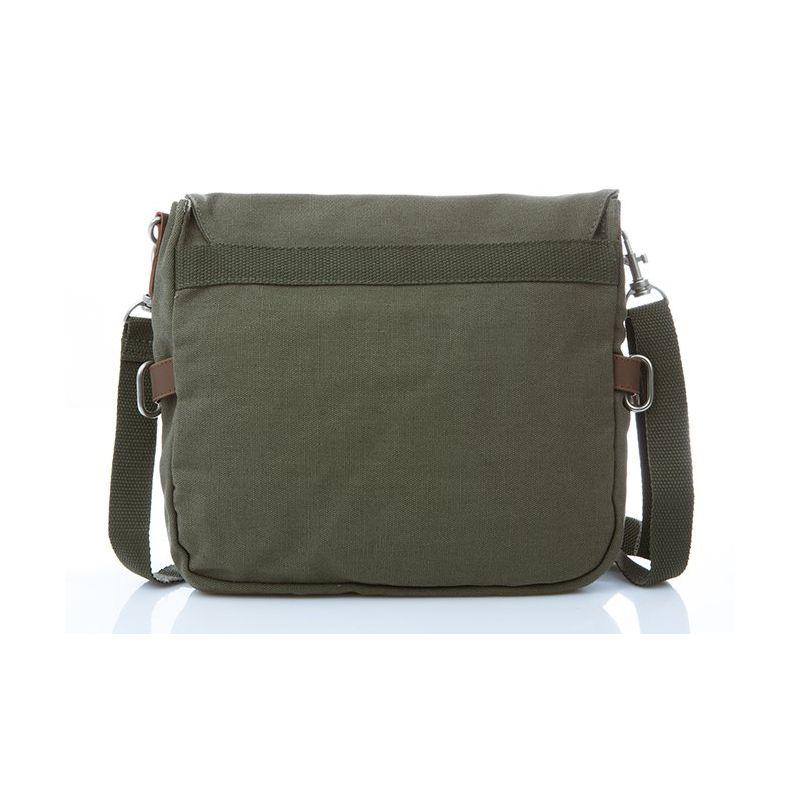 Hemp Shoulder Bag Medium - Khaki-1820