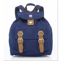 Hemp Mini Backpack - Blue-0