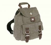 Hemp Mini Backpack - Grey-0