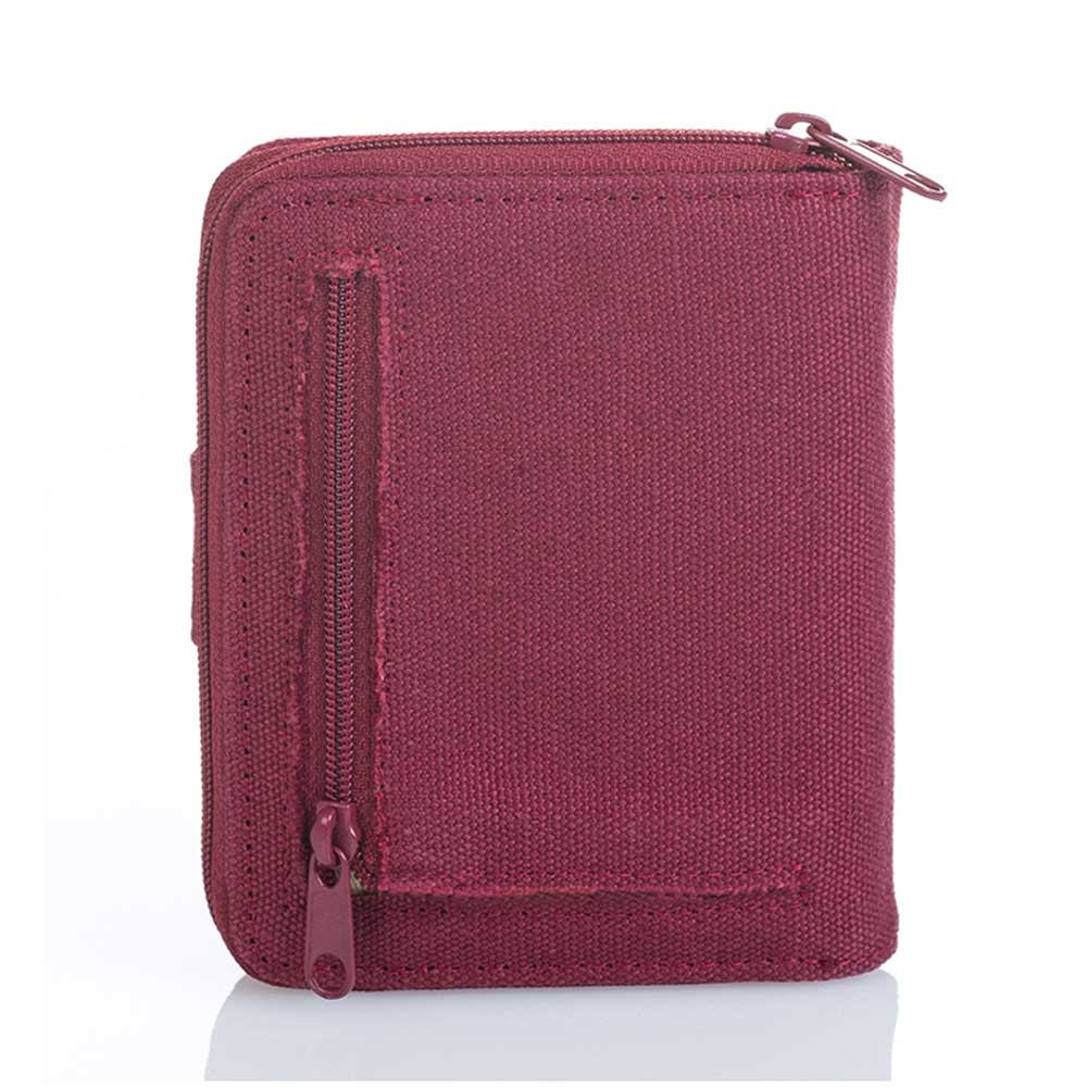 Hemp Wallet All-round zip-1946