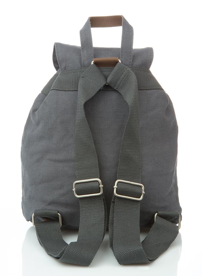 Hemp Mini Backpack - Grey-1833