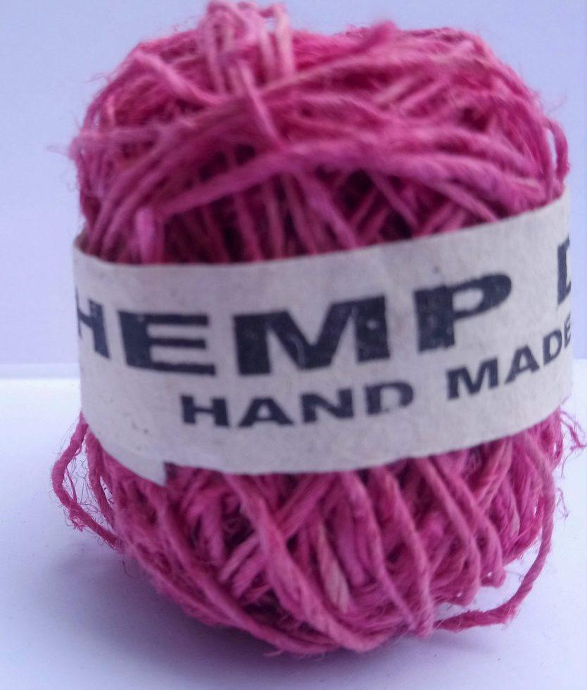 Hemp String Pink Color-0