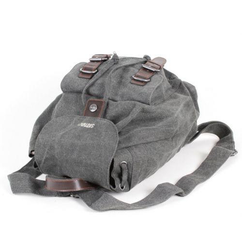 Hemp Single Rucksack - Grey-1835