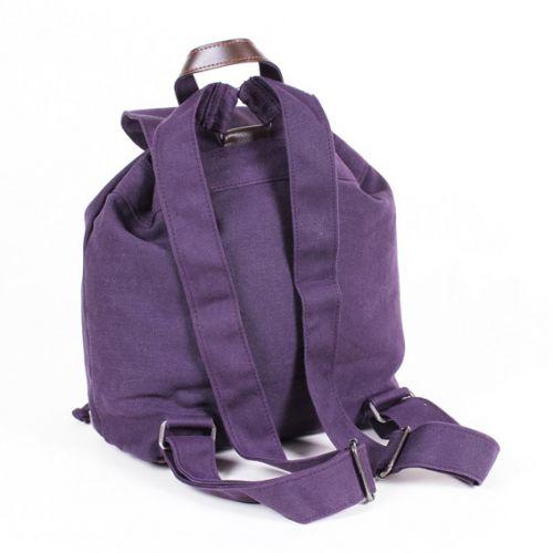 Hemp Single Rucksack - Purple-1838