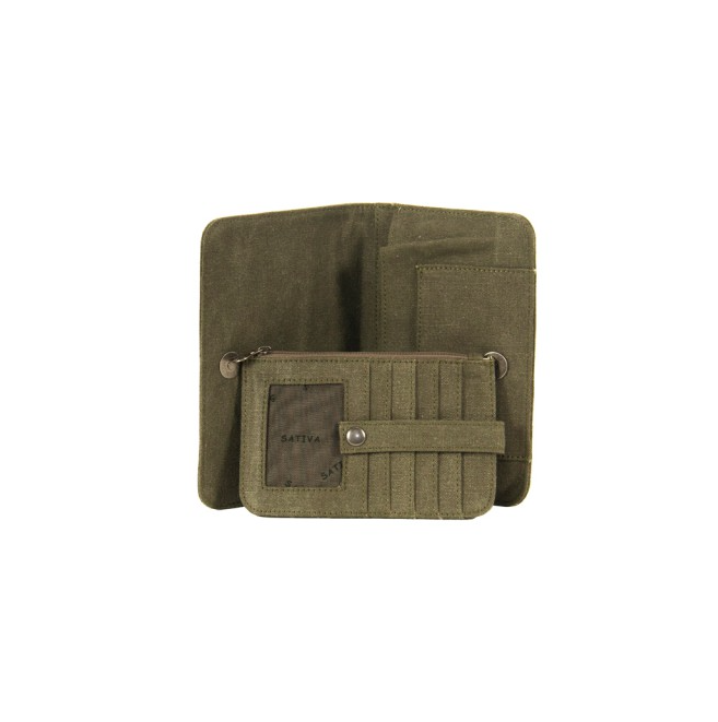 Hemp Large Folding Wallet-0