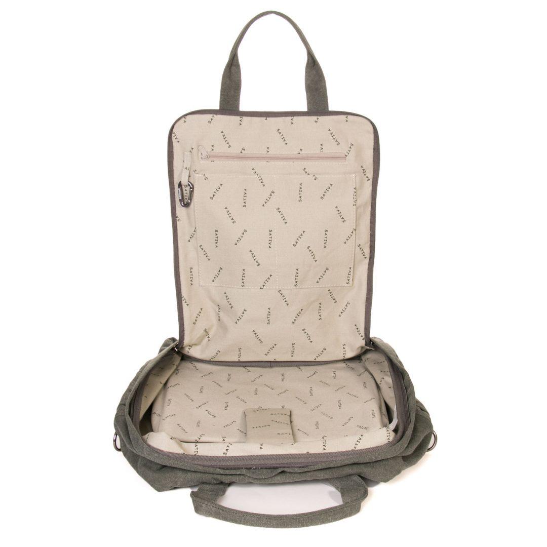Hemp All Purpose Carrying Bag - Khaki-1863