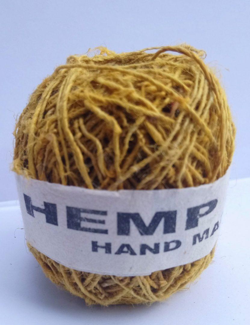 Hemp String Yellow Color-0