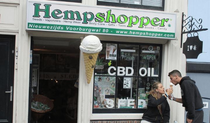 Hempshopper Nieuwezijds Voorburgwal 80