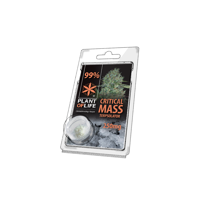 Buy Critical Mass Terpsolator 99% CBD 250 mg