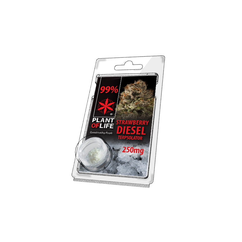 Buy Strawberry Diesel Terpsolator 99% CBD 250 mg