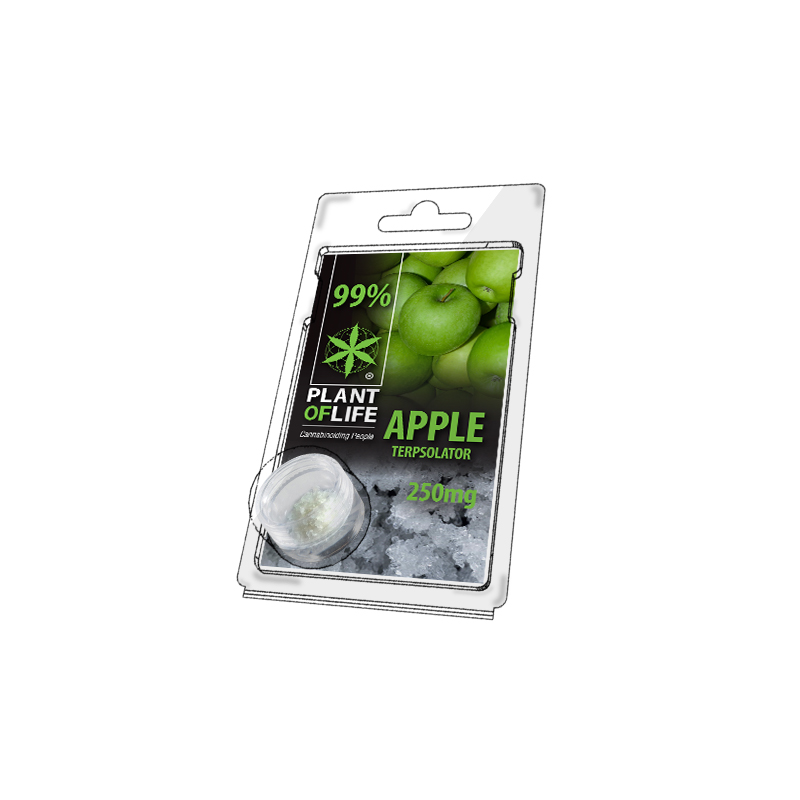 Buy Apple Terpsolator 99% CBD 250 mg