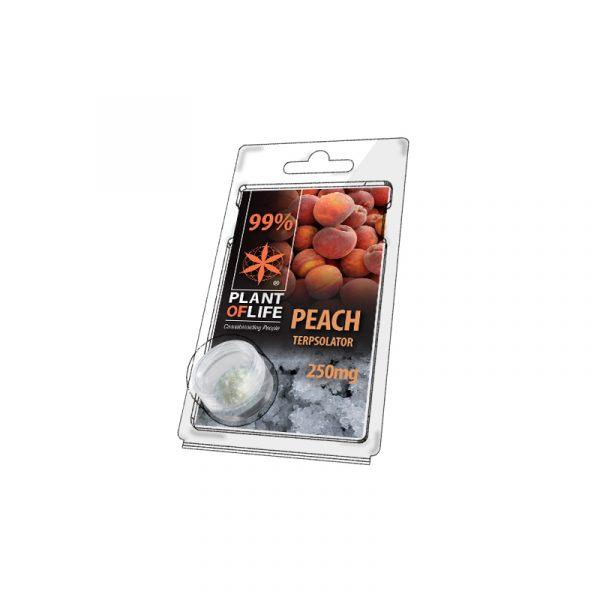 Buy Peach Terpsolator 99% CBD 250 mg